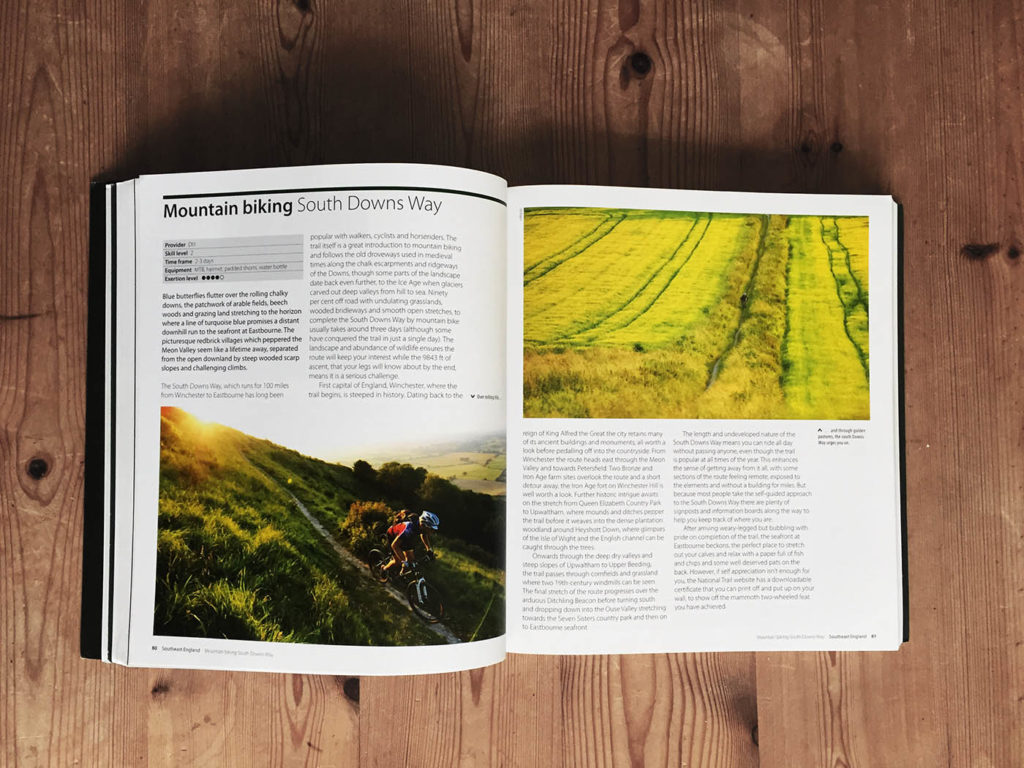 Adventure Britain - the best active escapes by Demi Taylor. Mountain Biking South Downs Way