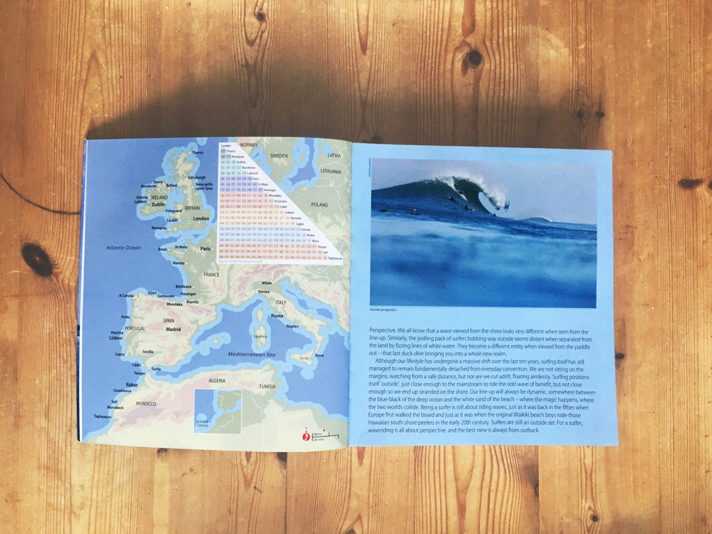 Surfing Europe - the ultimate guide to surfing and travelling in Europe by Chris Nelson and Demi Taylor.